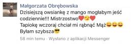 opinia o cateringu ewy chodakowskiej
