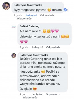 Be Diet Catering Opinie