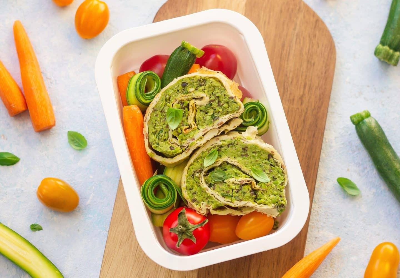 Dieta pudełkowa wegetariańska