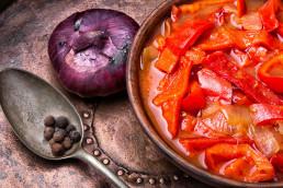 wegańskie leczo na fit kolację